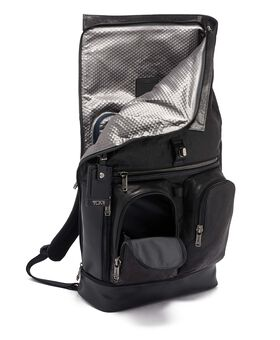 Mochila enrollable London en piel Alpha Bravo
