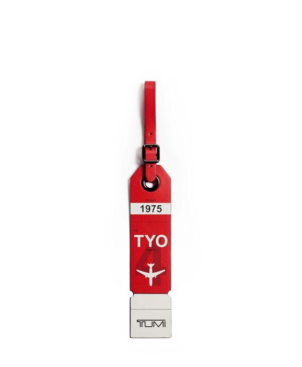 Travel Accessory Tarjeta de equipaje Tokyo
