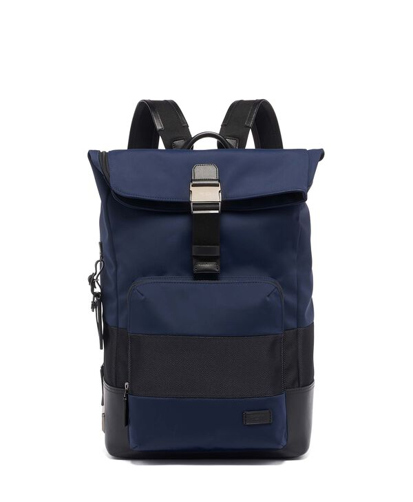 Harrison Mochila con tapa enrollable Oak