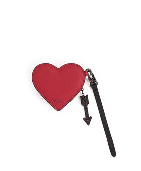 Heart Coin Pouch Charm Tumi Womens Accents