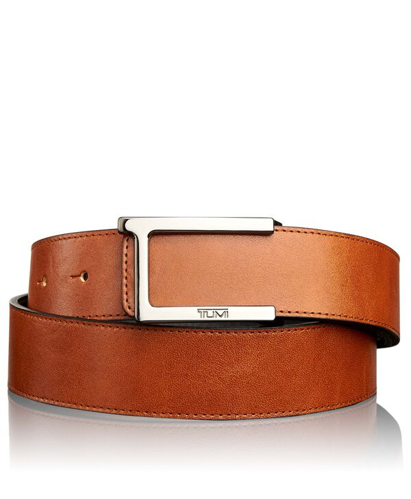 Belts T Buckle Leather Reversible Belt