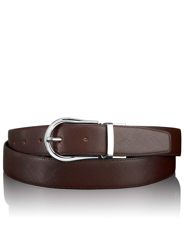 Belts Saffiano Horseshoe Reversible Belt 44""