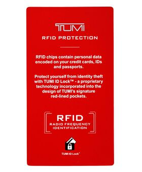 TUMI ID Lock™ Billetera con tarjetero adicional central con visor Global Monaco